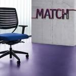 sedus-match hier Dreshtuhl im www.buero-ideen.de/webshop gibt es Drehstühle Freischwinger Vierfußmodelle