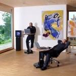 Stehpulte - perfekter Mini-Arbeitsplatz Mini-Büro für Laptop oder Notebook