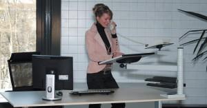 tischstehpult desk easy höheneinstellbar höhenverstellbar officeplus in webshop buero-ideen.de bestellen kaufen günstiger schenll sofort lieferbar