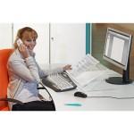 officeplus tischpulte tischpult-2 in Benutzung als Konzepthalter Konzeptablage