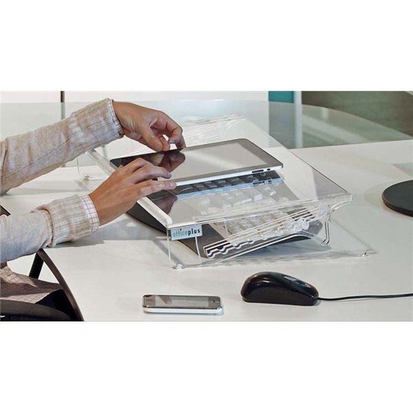 Testen Sie kostenlos Stehpulte Stehtische Stehhilfen tischpult-2-Ansicht-C