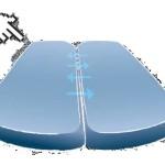 Köhl Air-Seat Sitzpolster 2-Kammern System schematische Darstellung