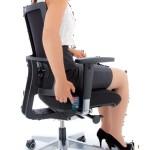 Bedienung des Köhl Air-Seat Sitzpolster aus dem Sitzen