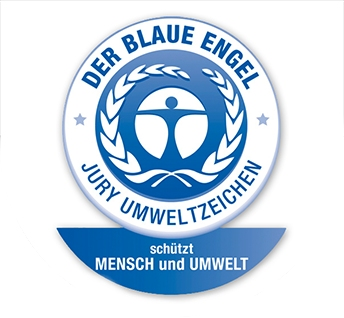Logo Blauer Engel hier für sedus netwin nw-100 Bürostühle von Büro-Goertz in Darmstadt und bei www.buero-ideen.de