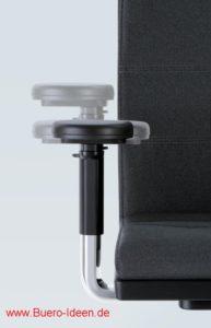 sedus mr. 24 XXL Drehstuhl mit voller Garantie 3D-verstellbare Armlehnen, Höhe, Breite, Tiefe einstellbar sehr robust