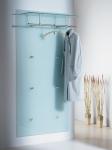 D-Tec Pacific Garderoben Modelle ergänzt - hier der Klassiker Pacific-1 S6 satiniert bei buero-ideen.de/webshop